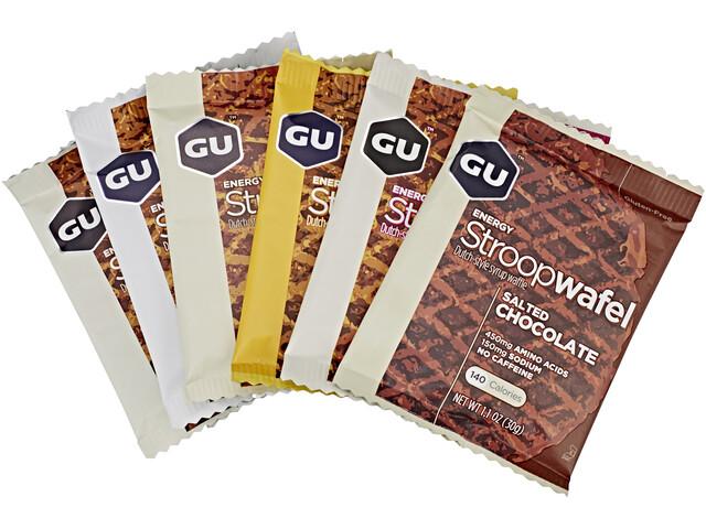 GU Energy StroopWafel Sportvoeding met basisprijs 4 soorten 16 x 30g